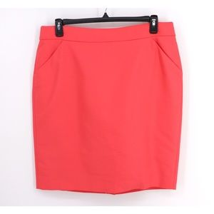 J. Crew The Pencil Skirt NWT Double Serge Cotton